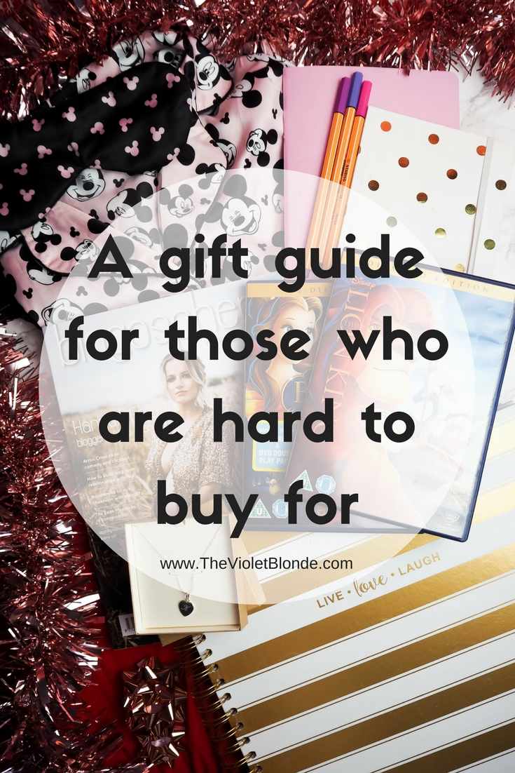 Gifts for those who are hard to buy for