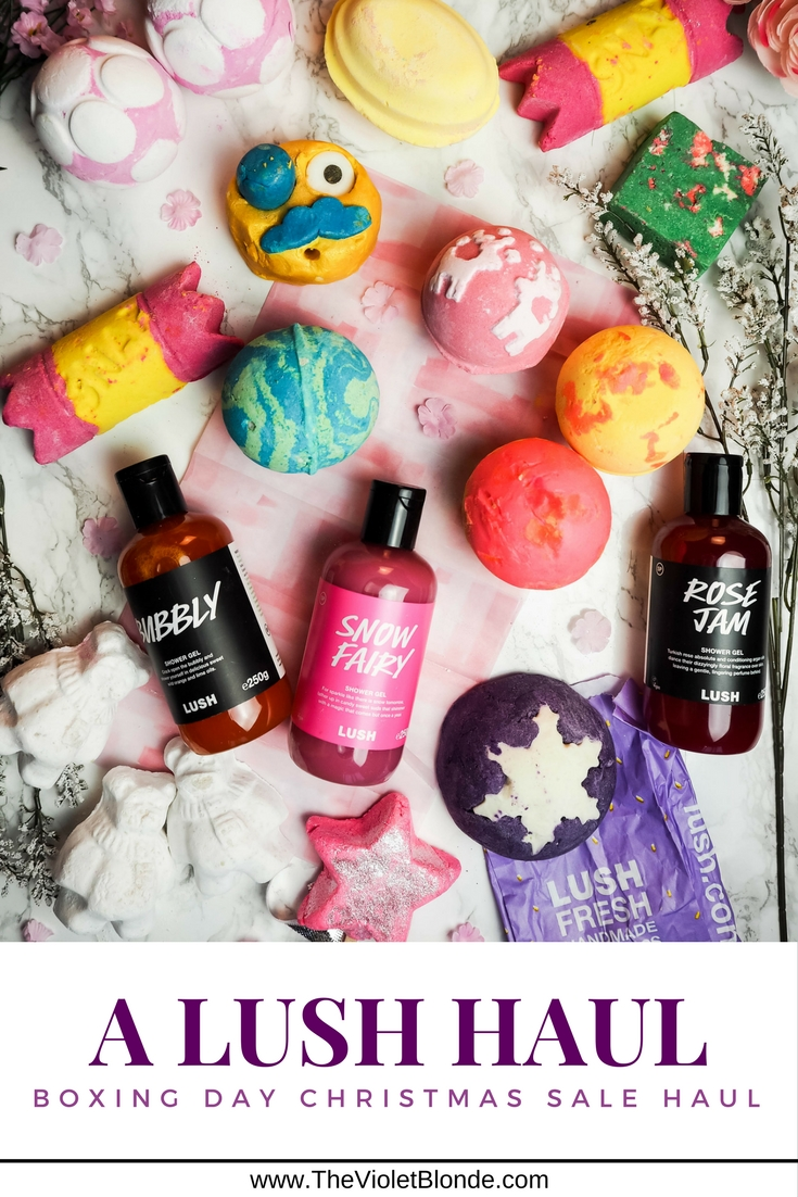 Lush Boxing Day Christmas sale haul
