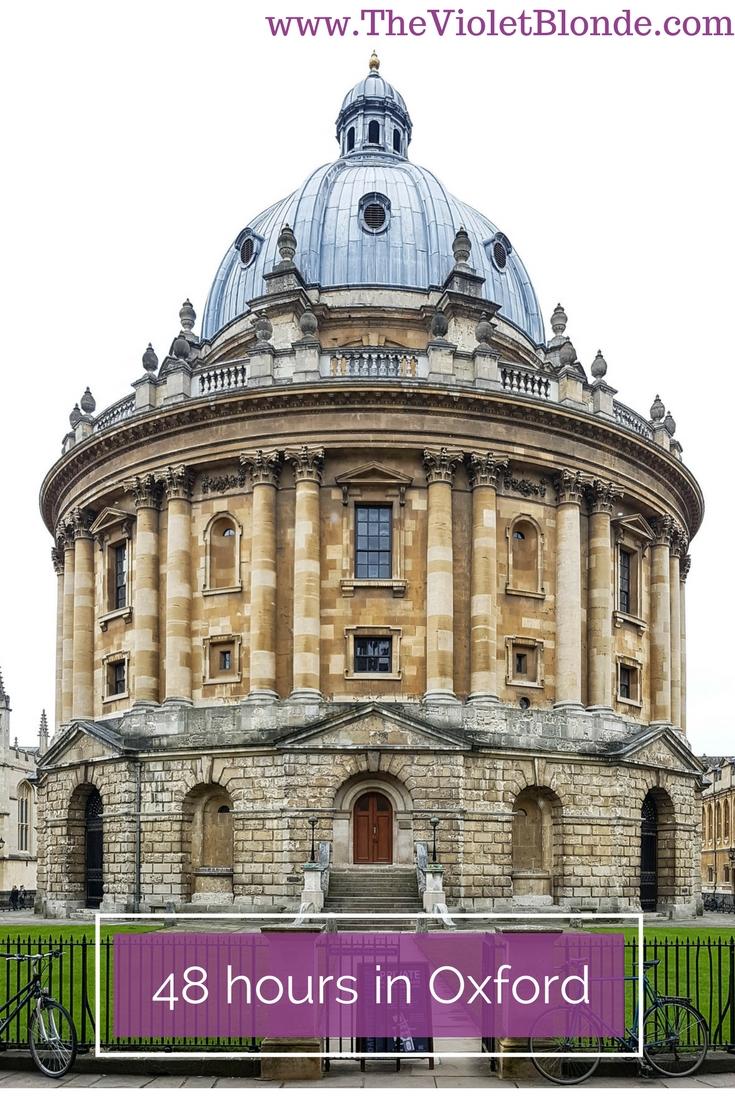 Oxford travel