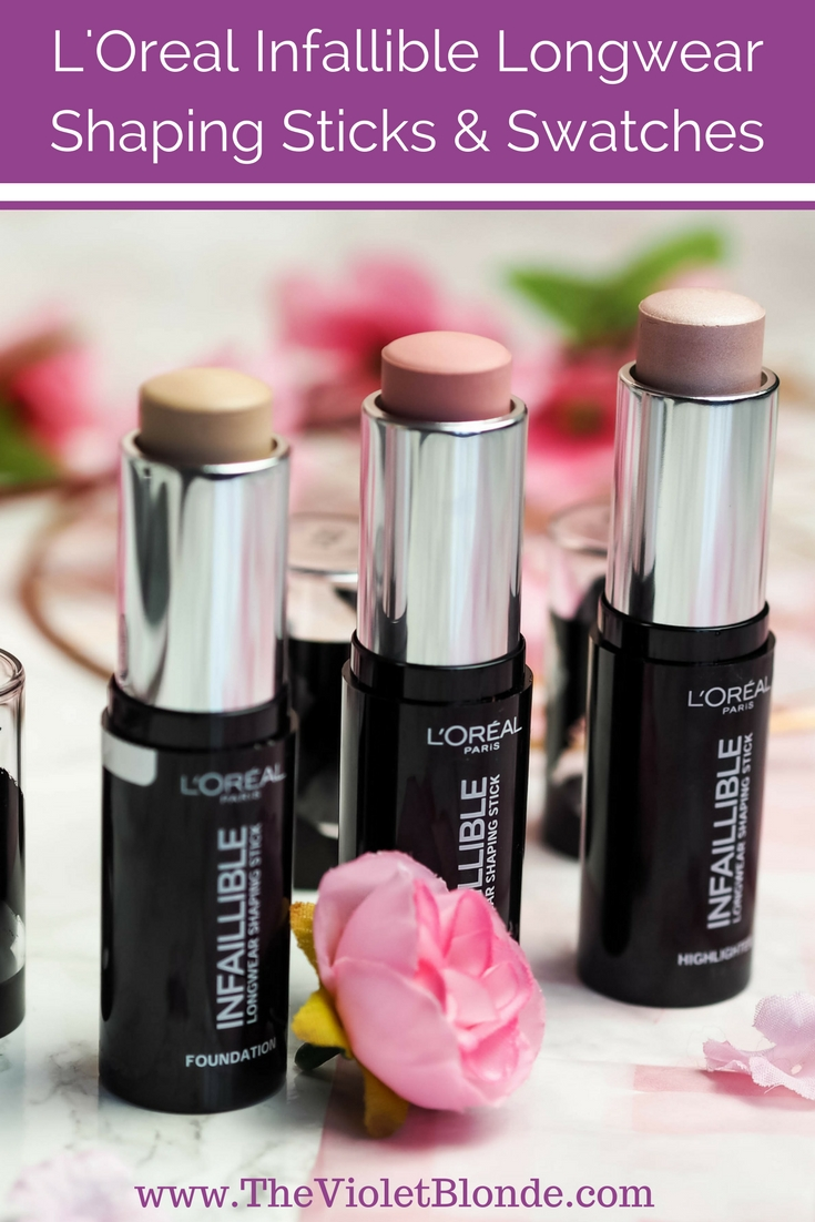 L'Oreal Infallible Longwear Shaping Stick