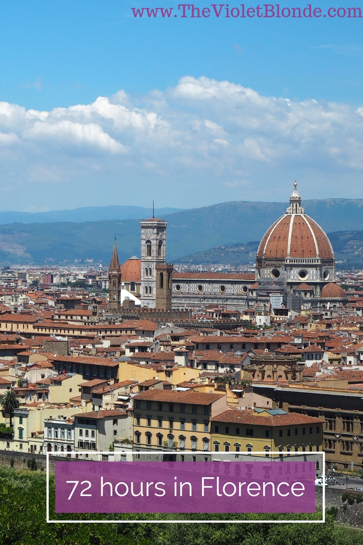 72 hours in Florence